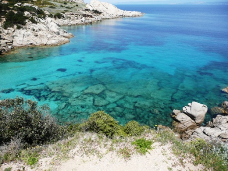 Cala Jami summer retreat Sardinia - crystal clear Mediterranean sea