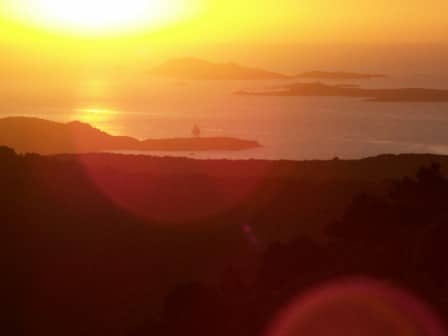 Sufi meditation center Cala Jami Sardinia walking meditation sunrise