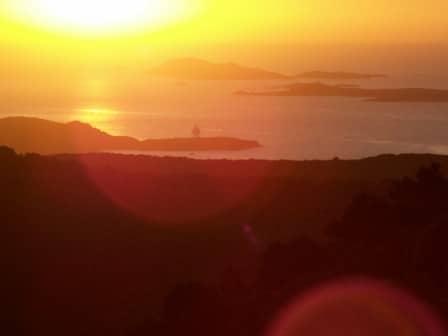 Sufi meditation center Cala Jami Sardinia walking meditation sunrise