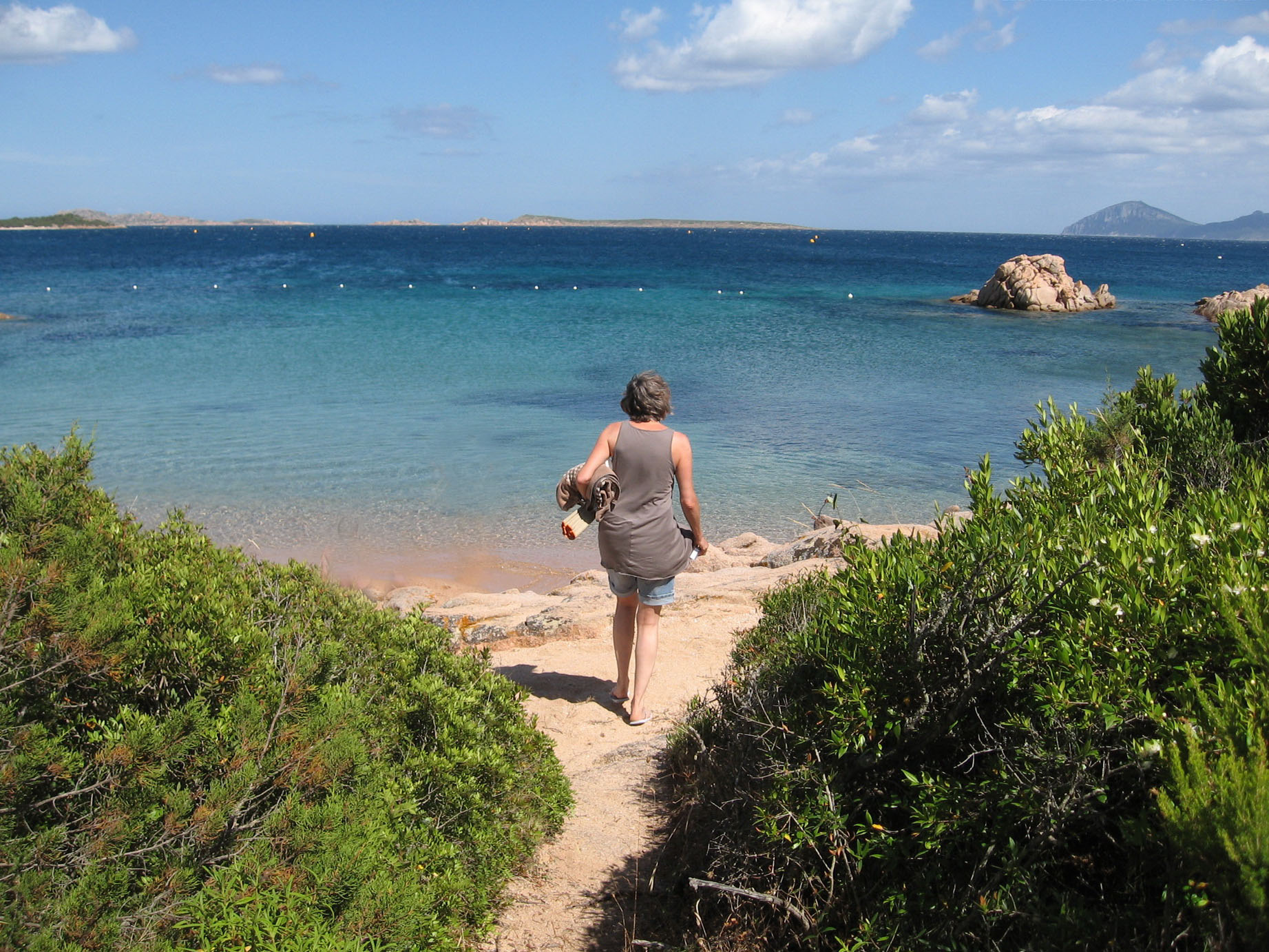 Through mediterranean scrub to Sardinian beach - Cala Jami outdoor activities