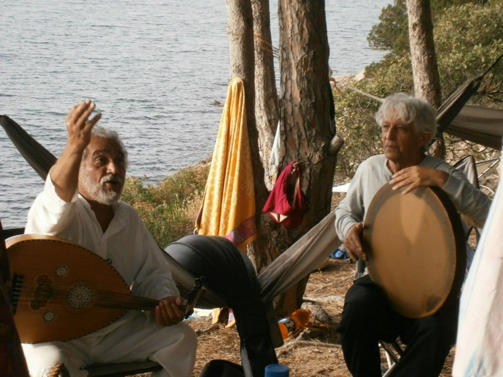 Events Cala Jami Sufi Inayati meditation center Sardinia - with AHURA at the seaside