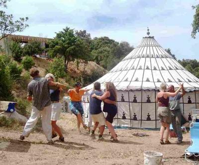Cala Jami Inayati Sufi camp Sardinia 2005 first event ever