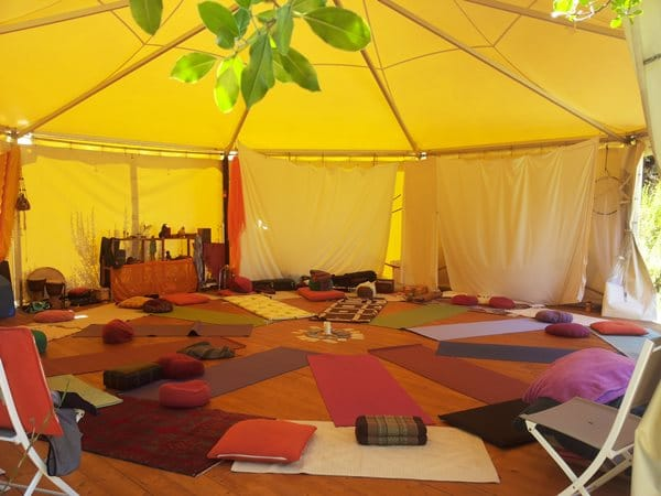 Am Meditationsplatz auf Cala Jami finden seit 2005 Retreats, Seminare und zahllose Meditations-Sessions statt.