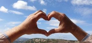Cala Jami meditation center heart in the sky