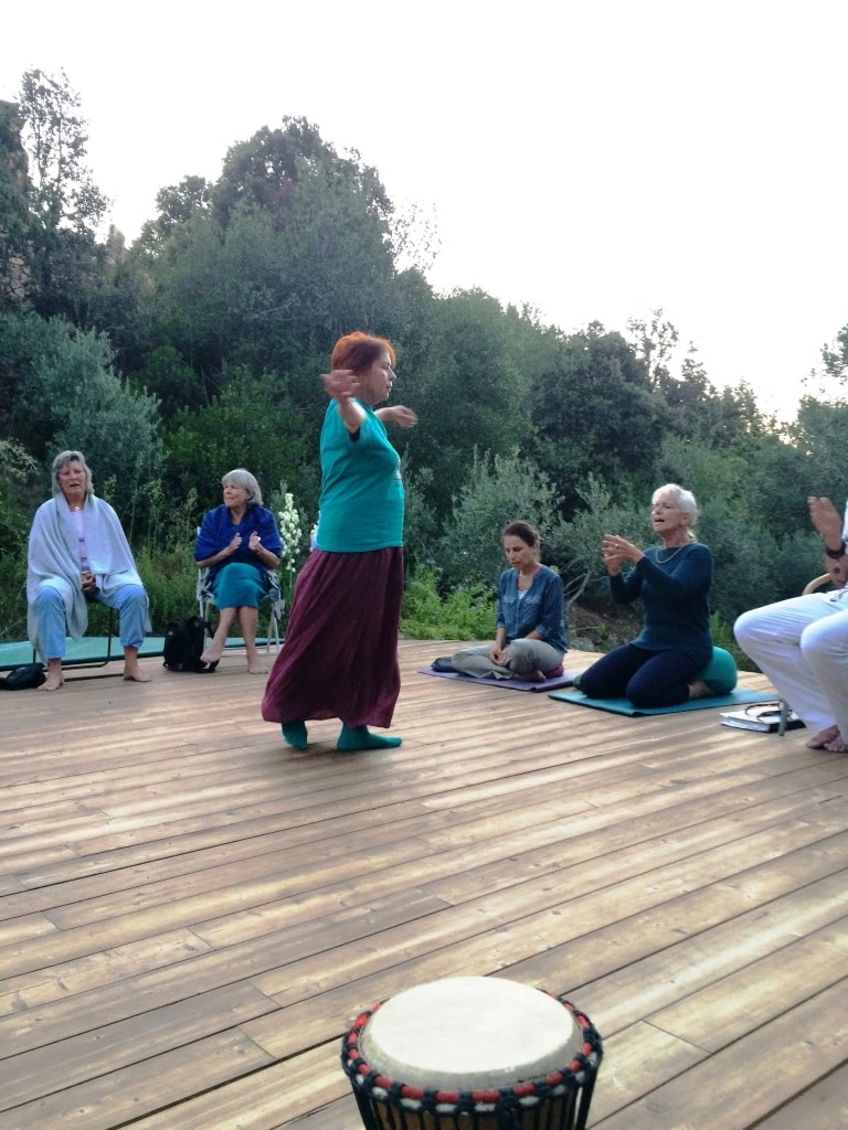 Sufi retreat Akbar Cala Jami Sardinia whirling