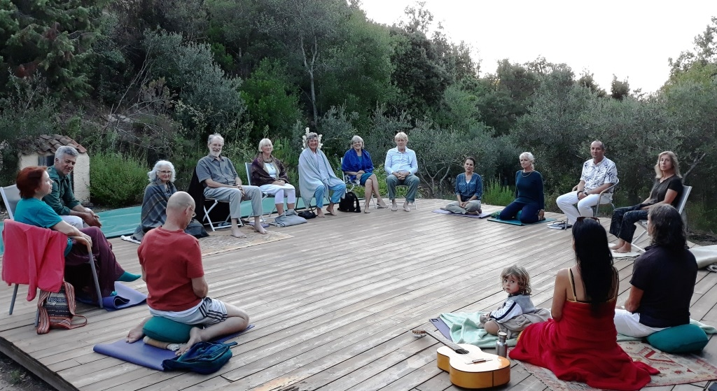 Akbar and Latifa Appels will again guide a beautiful Sufi retreat at Cala Jami (Sardinia).