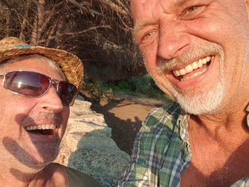 Suficamp Cala Jami Sardinia - good freinds Javid and Hossein