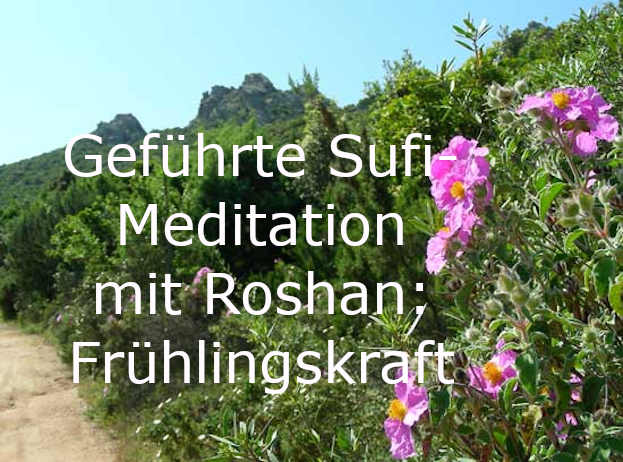 Morgenmeditation im Frühling mit Roshan Sufi Earth Spirit, Inayyatiyya Italien