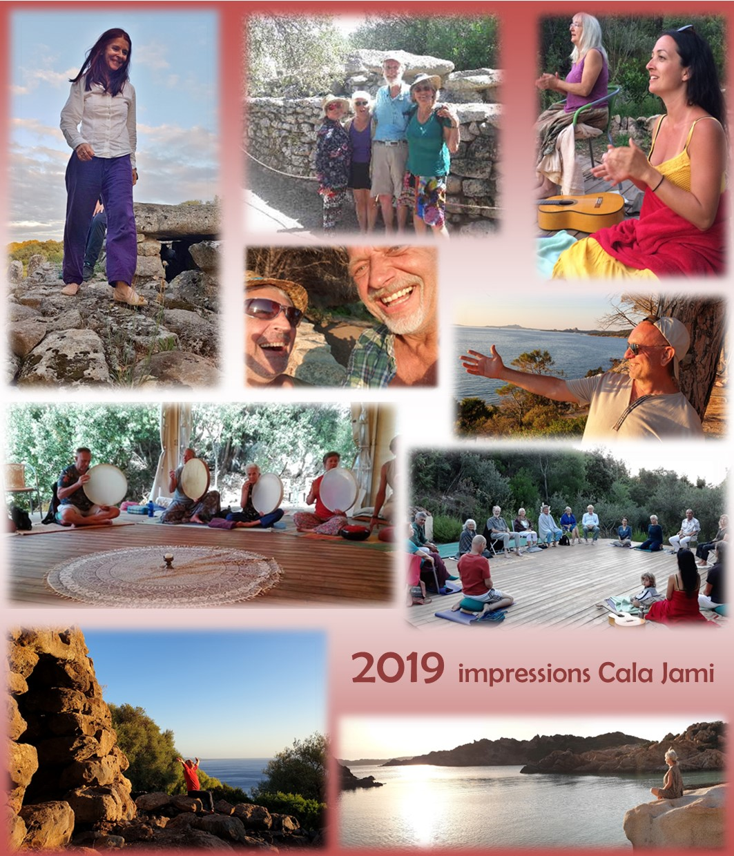 2019 - a great year in Sufi mediation center Cala Jami Sardinia