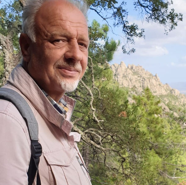 Javid Lieb is active in the Sufi center Cala Jami Sardinia
